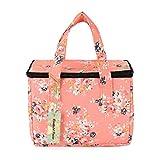 WONDERFUL FLOWER Lunch Box Cooler Bag lunch bag flower (015 Peach)