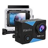 Piwoka Cámara Deportiva HD1080P Impermeable 30M acción cámara submarina Pantalla 2' LCD Gran...