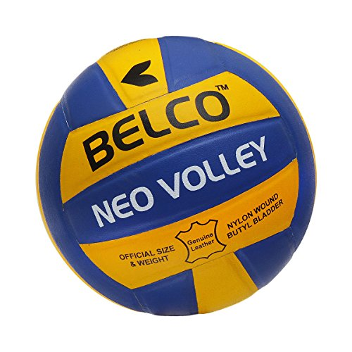 Belco Neo Top Quality Genuine Leather Pasted Size-4 Volleyball