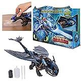 Dragons 3 - 6045436 - Jeu enfant - Figurine d'Action - Krokmou Géant Cracheur...