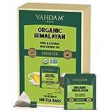 VAHDAM, Organic Himalayan Green Tea Leaves (100 Tea Bags)   100% Natural Green Tea, Detox Tea, ANTIOXIDANTS Rich - Green Tea Loose Leaf Tea Bag