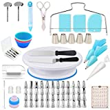 Shpebs UPDATED Cake Decorating Supplies | 100 Pcs Cake Decorating Kit...