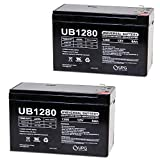Universal Power Group 12V 8Ah Battery Replacement for Acorn Stairlift - 2 Pack