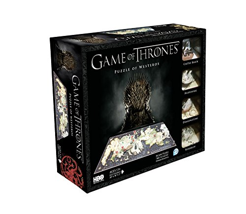 4DCityscape - Game of Thrones Puzzle 4D di Westeros
