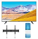Samsung UN50TU8000 50' Crystal 8 Series 4K Ultra High Definition Smart TV with a Walts TV Large/Extra Large Tilt Mount for 43'-90' Compatible TV's and a Walts HDTV Screen Cleaner Kit