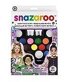 Snazaroo - Set de Pintura facial 'Lo último pack de fiesta'