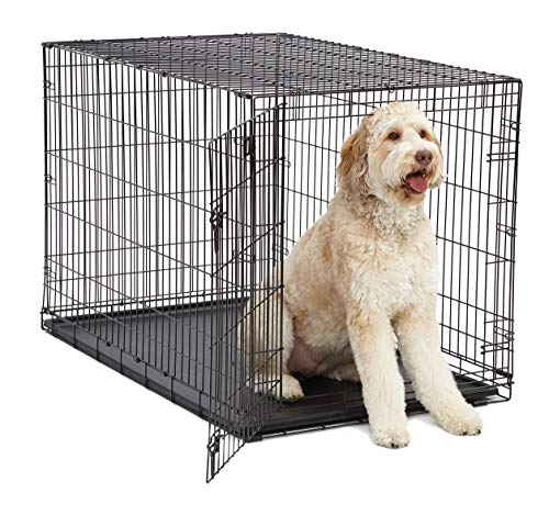 XL Dog Crate MidWest I Crate Folding Metal Dog...