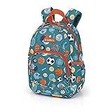 Gabol 224187 Gym Mochila Infantil, Poliéster, 8 L, Azul (Multicolor), 30 x 22 x 16 cm