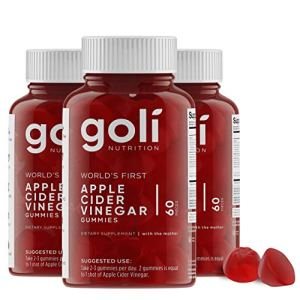 World's First Apple Cider Vinegar Gummy Vitamins by Goli Nutrition - Immunity, Detox & Weight (3 Pack, 180 Count, with The Mother, Gluten-Free, Vegan, Vitamin B9, B12, Beetroot, Pomegranate) 7 - My Weight Loss Today