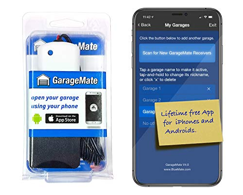 GarageMate: Open your garage with your iPhones, Androids, or...