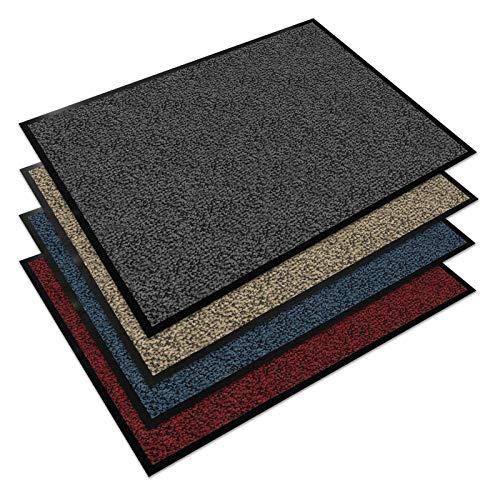 Floordirekt EVEREST Schmutzfangmatte Sky - Testsieger - Fußmatte in vielen Farben und Größen - anthrazit-schwarz, 90x150 cm