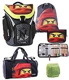 Juego de mochila escolar Lego Ninjago Explorer, 5 piezas
