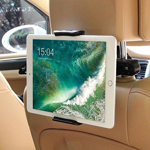 POOPHUNS Compatibile con Tablet e iPad Universale, Supporto Tablet Poggiatesta Auto Regolabili...