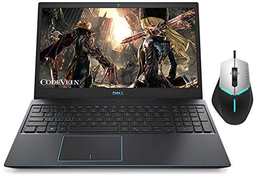 Dell G3 3500 Gaming Laptop 15.6-inch FHD 120 Hz Display (10th Gen Core i5-10300H/8GB/1TB + 256GB SSD/Win 10/4GB NVIDIA1650 Ti Graphics/Eclipse Black) + Alienware Advanced Gaming Mouse - AW558