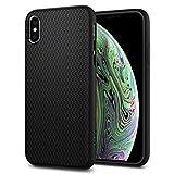 Spigen Cover Liquid Air Compatibile con iPhone XS Compatibile con iPhone X - Nero