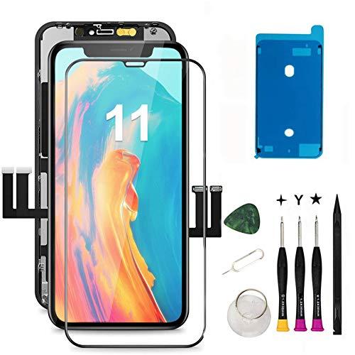 Oli & Ode iphone 11 液晶パネル iphone11 フロントパネル交換 iPhone 11 修理パーツ iphone 11 screen rep...