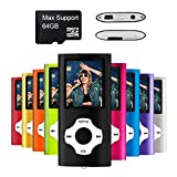 MYMAHDI – Digital, Compact et Portable Lecteur MP3/MP4 (Max Support 64 G) avec Photo Viewer,...