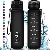 Grsta Gourde Sport, Bouteille 350ml/500ml/800ml/1l/1,5l, Bouteille d'eau avec Filtre...