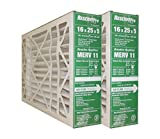 GeneralAire # 4541 MERV 11 for # GF 4511 ReservePro 16x25x5 furnace filter, Actual Size:15 5/8' x 24 3/16' x 4 15/16' Case of 2 Filters- MEASURE CAREFULLY BEFORE ORDERING !