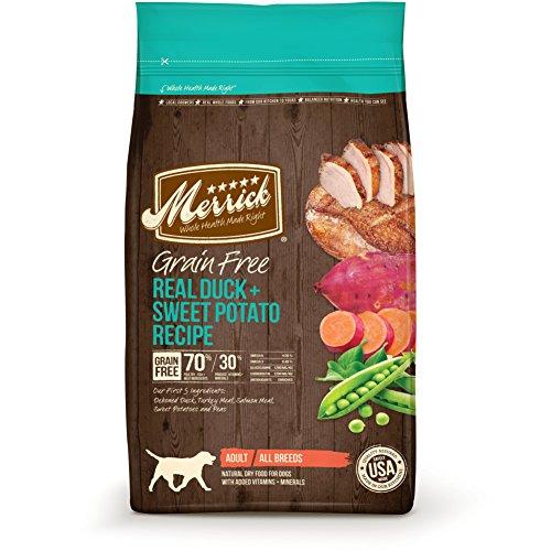 Merrick Grano Libre Receta seco Perro Alimentos