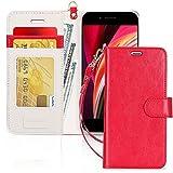 iPhone SE ケース 第2世代 iPhone8 ケース iPhone7ケース FYY 手帳型 高級PU レザー カード収……