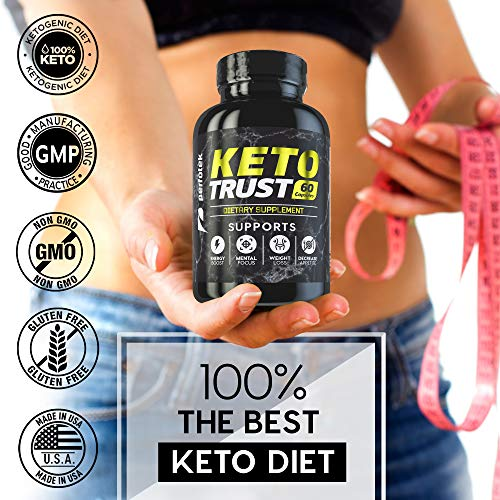 4 Pack Keto Diet Pills Weight Loss Supplement Fat Burner Advanced Extract Formula - Garcinia Cambogia - Raspberry Ketones, Green Coffee Bean, Green Tea All Natural, Ketogenic Diet for Women and Men 7