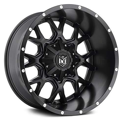 Dropstars 645B Satin Black Wheel (20x9'/6x5.5', 18mm Offset)