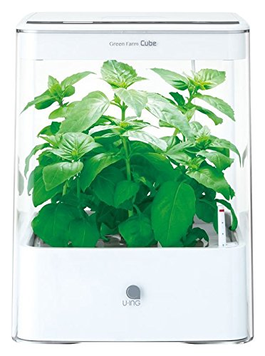 ユーイング 水耕栽培機GreenFarmCube UH-CB01G1 ホワイト