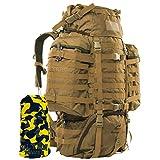 Wisport : Sac à dos militaire tactique camouflage désert 85L