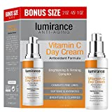 Vitamin C Day Cream, Combats Fine Lines 2oz / 60mlBonus Size, Combats fines lines, brightens and clarifies face, skin treatment cream for all skin types