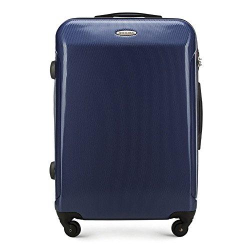 Wittchen, Trolley Blu Mittlerer Koffer