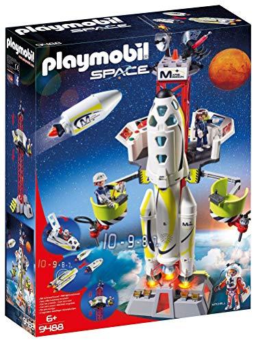 Playmobil Space 9488 Razzo Spaziale con Rampa di Lancio, dai 6 anni