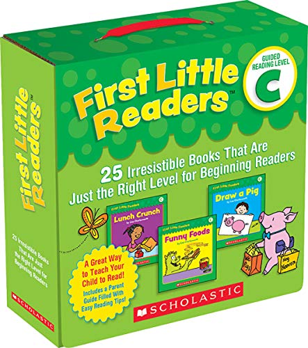 First Little Readers Parent Pack: Guided Reading Level C: 25...