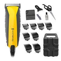 Remington HC5850 Virtually Indestructible Haircut Kit & Beard Trimmer, Hair Clippers for Men (15...