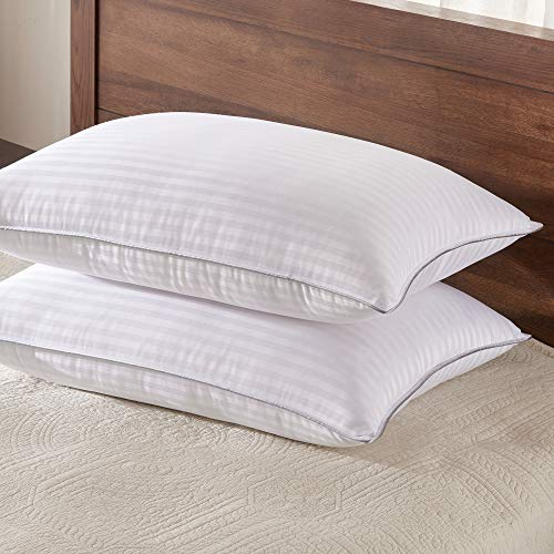 Basic Beyond Down Alternative Bed Pillow - 2 Pack Hotel Collection Super Soft Pillow for Sleeping with Bamboo Materials Fill, King Size