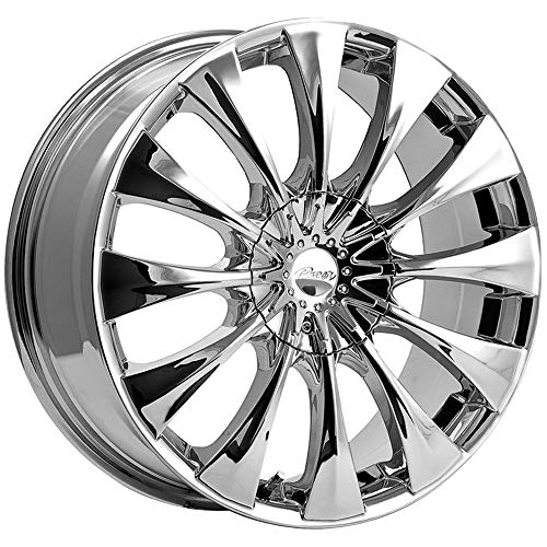 Pacer 776C SILHOUETTE Wheel with Chrome Finish (20x8.5'/5x4.50', +40mm Offset)