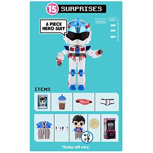Image 1 - LOL Surprise Garçons Héros d'Arcade - Figurine d'action - Avec 15 surprises, costumes de héros 6 pièces & accessoires