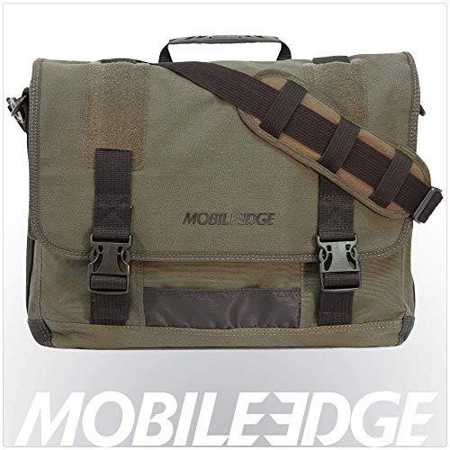 Mobile Edge The ECO Messenger - Funda (Maletín clásico, Oliva, Algodón)