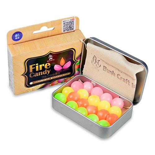 Bush Craft(ブッシュクラフト) ファイヤーキャンディ (Fire Candy)20粒入り 06-03-orti-0008