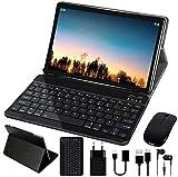 Tablet 10 Pollici 4GB RAM 64GB ROM WiFi + Doppia SIM Lte Android 10 Pro GOODTEL Tablets Doppia Fotocamera   WiFi   IPS   Bluetooth   MicroSD 4-128 GB   con Tastiera Bluetooth e Mouse - Grigio