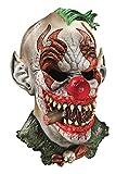 Foam Latex Mask, Deluxe Fonzo The Clown-Adult