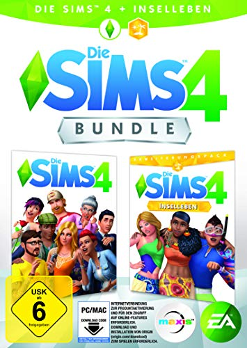 Die Sims 4 - Base Game + Inselleben Expansion, Deluxe Upgrade   PC Download - Origin Code