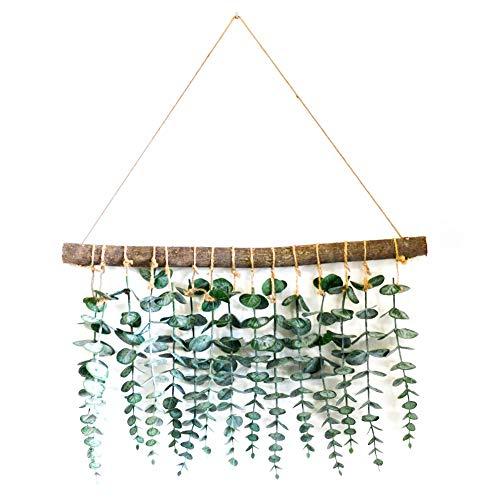 LokoVynes Artificial Eucalyptus Wall Decor - Wall Hanging...