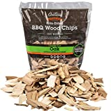 Smoking Chips - (Oak) - 2lb Barbecue Chips, 260 cu. in. (0.004m³) - Kiln Dried, 100% Natural Coarse...