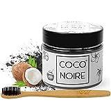 Coco Noire™ |Poudre De Charbon Blanchissante Des Dents + Brosse en Bambou + EBOOK GRATUIT | Blanchiment Naturel Teeth Vegetal Coco Actif Pour Blanchir à La Maison[30 Jours Satisfait Ou Remboursé]