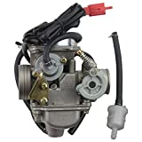 GOOFIT PD24J Carburetor for GY6 150cc ATV Scooter 157QMJ Engine