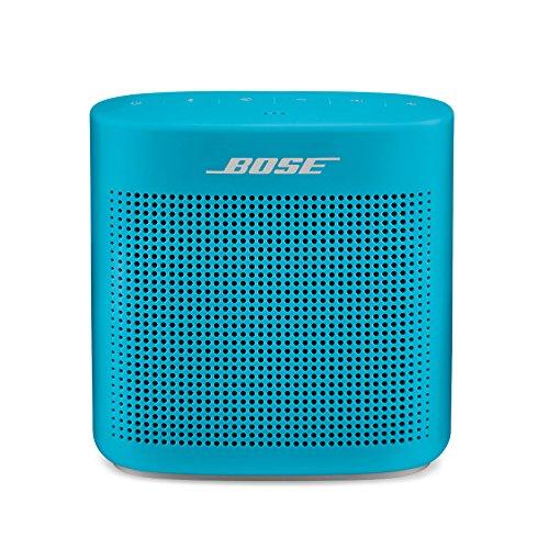 Bose SoundLink Color II - Enceintes Portables Bluetooth (Résistante aux Projections d'eau), Bleu
