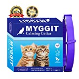 MYGGIT Calming Collar for cat, pheromone Technology Reduces pet Anxiety and Improves Bad Behavior and Keeps Pets Long-Lasting and Natural Calm (15 inches)