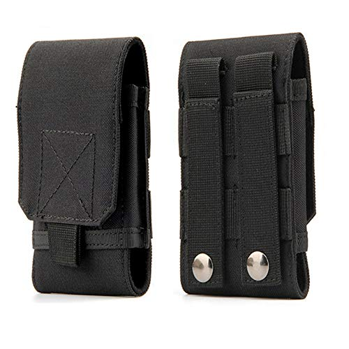 Tactical MOLLE Smartphone Holster, Universal Army Mobile Phone...