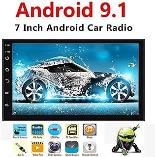 Binize Android 9.1 7 Inch HD Quad-Core 2 Din Car Stereo Radio Multimedia Player NO-DVD..